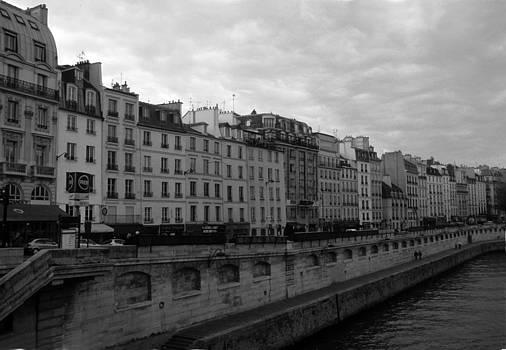 Harold E McCray - Paris - Banks of the Seine