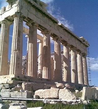 Parthenon by Katerina Kostaki