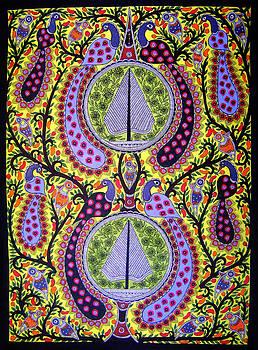 Peacocks by Neeraj kumar Jha