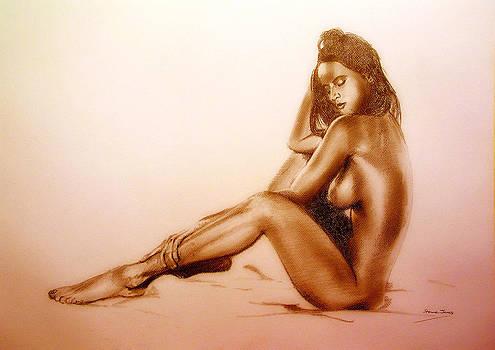 Pencil Nude by Steve Jones