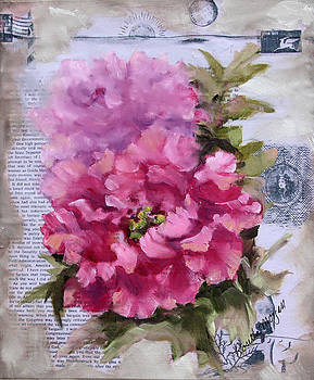 Peony In Pink by Rosie Morgan