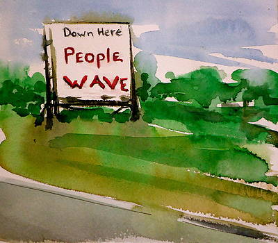 People Wave by Pete Maier