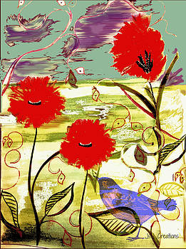 Poppies by Jan Steadman-Jackson