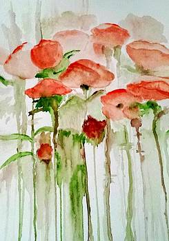 Poppies by Julie Lourenco