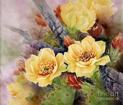 Summer Celeste - Prickly Pear in Bloom