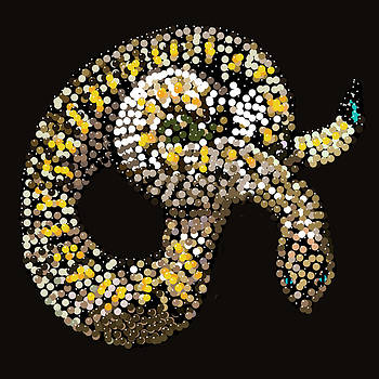 Rattlesnake Bedazzled by R  Allen Swezey