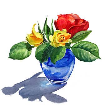 Irina Sztukowski - Red Yellow and Blue