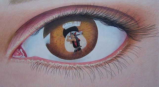 Reflections in a Golden Eye by Constance DRESCHER