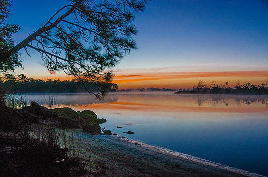 River Sunrise by Don L Williams