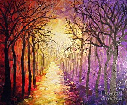 Road Back Home by Susan Wahlfeldt