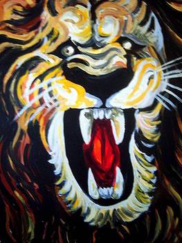 Roaring Lion by Vedran V Pasalic