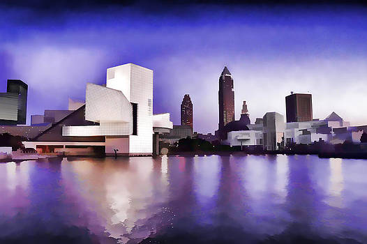 Rock and Roll Hall of Fame - Cleveland Ohio - 3 by Mark Madere