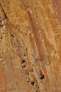Rock Climbing at Smith Rock by Thomas J Rhodes