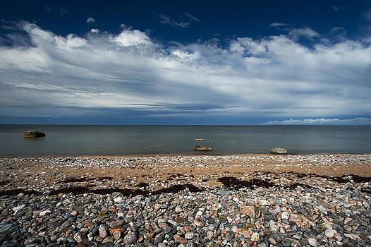Rocky beach by Anna Grigorjeva