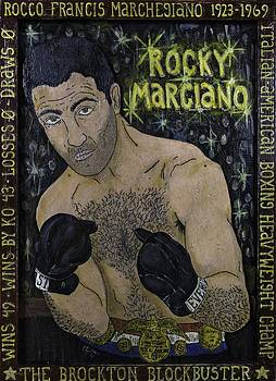 Rocky Marciano by Eric Cunningham