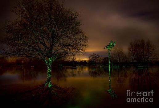 Angel  Tarantella - Ross-on-Wye flooded