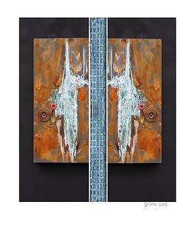 Rust Art 02 by Gertrude Scheffler
