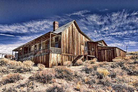 Rustic Cabin by Jason Abando
