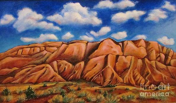 Sandia Mountains  NM by Beth Fischer