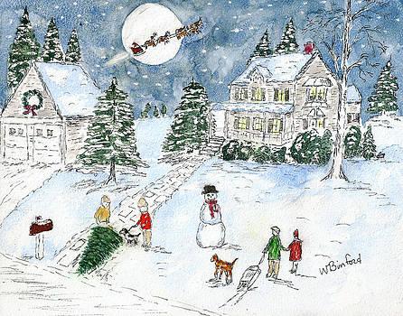 Santa Delivers by Wade Binford