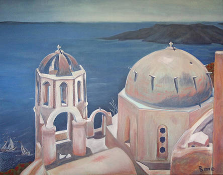 Santorini by Rayna DeHoog