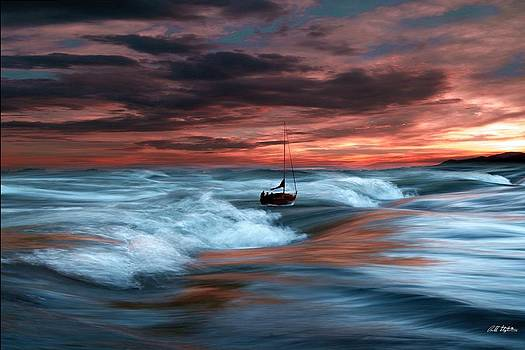 Sea Billows Roll by Bill Stephens