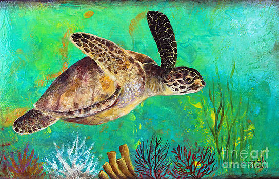 Sea Turtle  by Gabriela Valencia