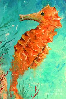 Seahorse  Legend  by Gabriela Valencia