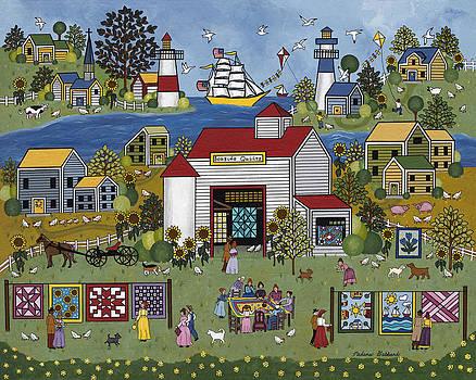 Seaside Quilts by Medana Gabbard