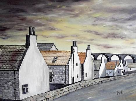 Seatown In Cullen by Trudy Kepke