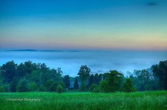 Shaconage Land of the blue smoke by Paul Herrmann