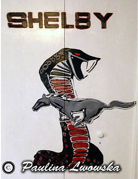 Shelby Mustang by Paulina Lwowska