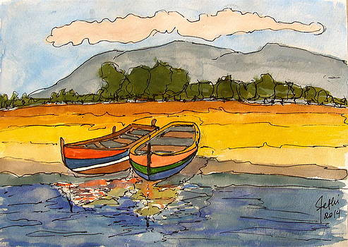 Ships in Relax -SOLD- by Fethi Canbaz