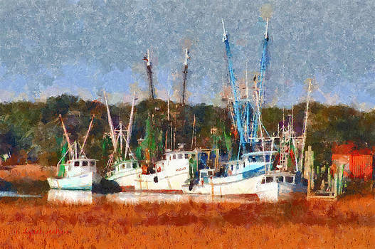 Shrimp Boats Too by Lynne Jenkins