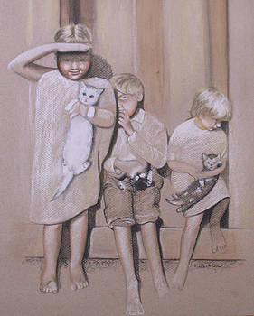 Siblings by Kathy Weidner