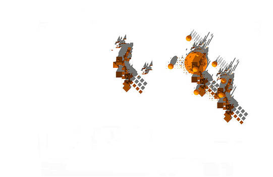 Site Plan in Brown and Orange by Y-axis lab