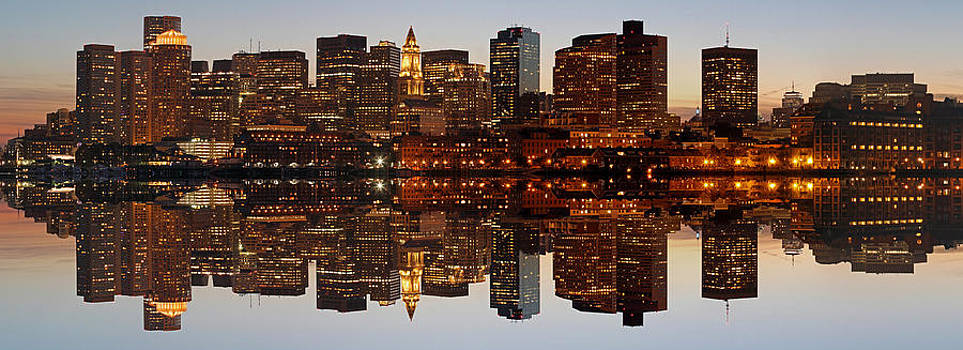 Juergen Roth - Skyline Panorama of Boston
