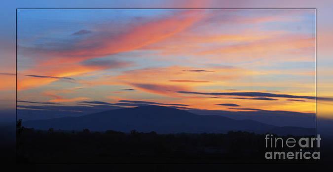 Joe Cashin - Slievenamon sunset