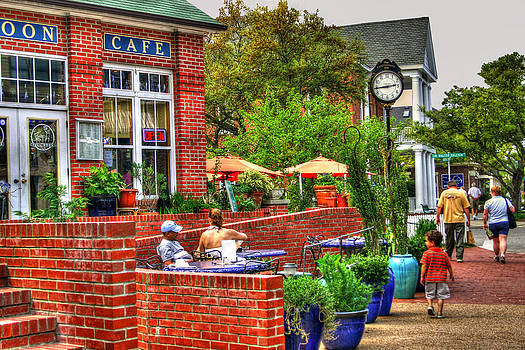 Small Town Cafe by Cindy Haggerty