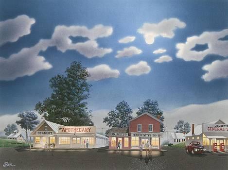 Small Town Saturday Night by C Robert Follett