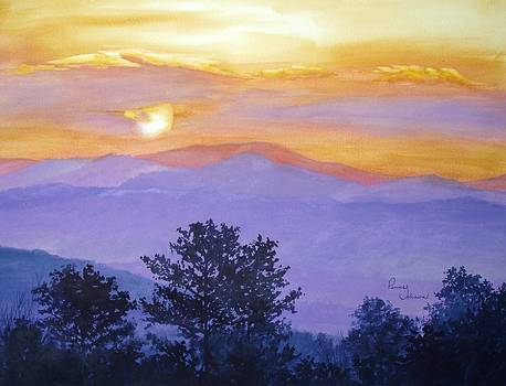 Smoky Mountain Sunrise by Penny Johnson