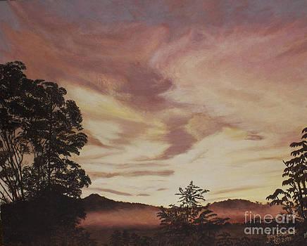 Smoky Mountain Sunset by Joy Ballack