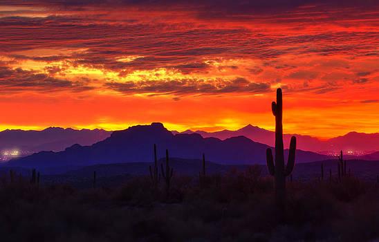 Saija  Lehtonen - Sonoran Skies on Fire