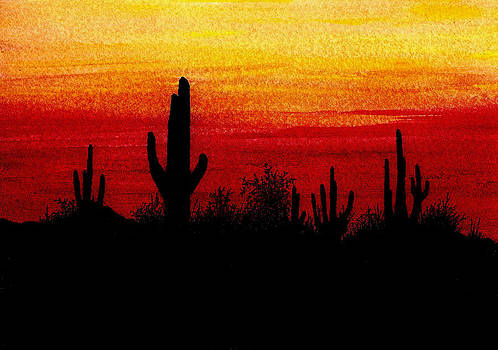 Southwestern Sunset by Michael Vigliotti