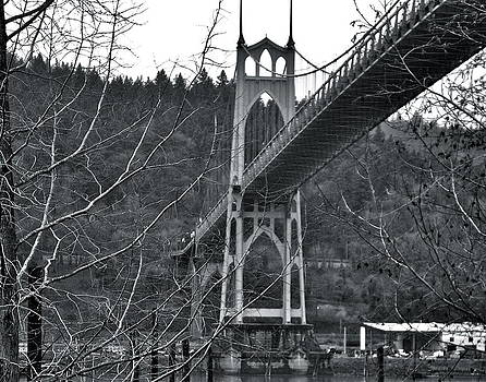 St. Johns Bridge  by Rae Berge