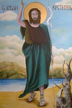 St. Jovan Krstitelj by Marija Ristovic