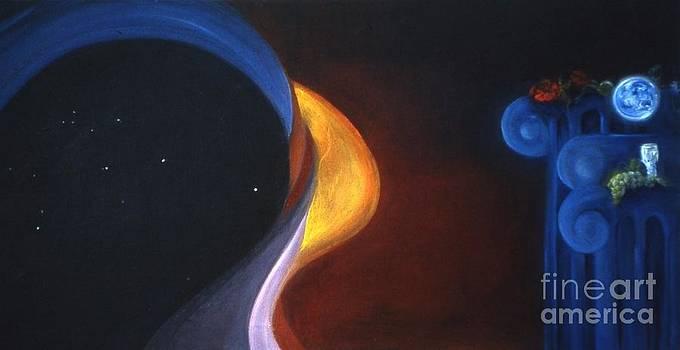 Star Ship Aquarius by Myra Maslowsky