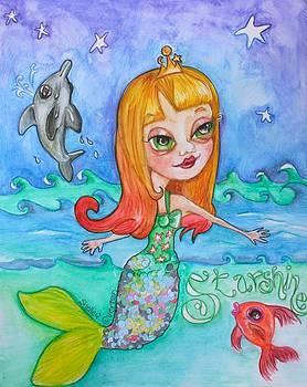 Starshine Mermaid by Shelley Overton