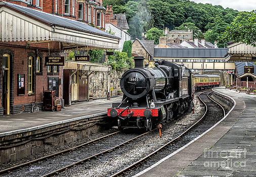 Adrian Evans - Steam Train