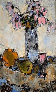 Still life with flowers by Pemaro